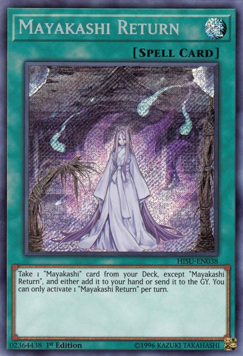 Occasion card yu gi oh return to the front cotd-fr077
